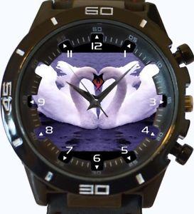 【送料無料】swan love wrist watch fast uk seller