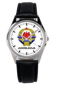 jugoslawien geschenk sfrj wappen abzeichen uhr b1034