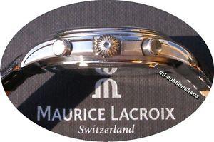 送料無料 edler maurice lacroix schleppzeiger chronographhdtsQCxr