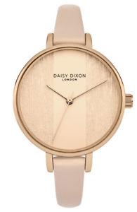 【送料無料】daisy dixon simone damenuhr dd045rg analog leder beige,rosa