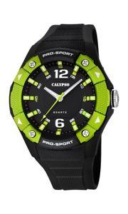 【送料無料】calypso watches analog k56762 schwarz olive grn neu 1 batterie extra