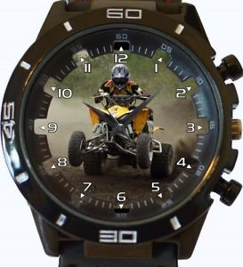 【送料無料】dirt quad bike racer gt series sports wrist watch