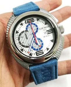 【送料無料】locman mare orologio uomo cronografo in titanio e fibra di carbonio listino 850