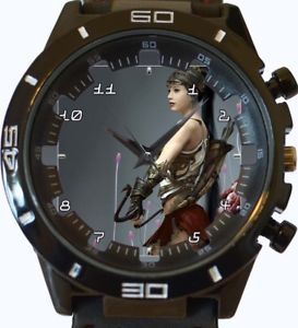【送料無料】archery fantasy girl fighter wrist watch fast uk seller