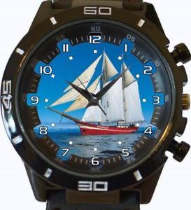 【送料無料】fishing big sail boat gt series sports wrist watch