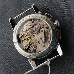 poljot aviator chronograph 3133 russisches veredeltes uhrwerk genfer schliff