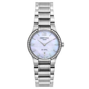 【送料無料】certina womens quartz watch c0122096111700