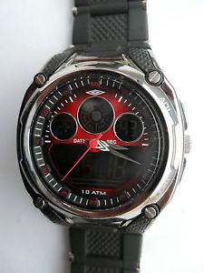 【送料無料】neues angebotumbro dragon dual time watch digital chronograph alarm light sports wristwatch