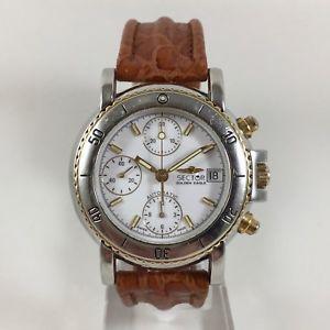 【送料無料】cronografo sector golden eagle cal eta 7750 automatico revisionato datario