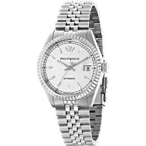 【送料無料】orologio philip watch caribe r8223597009 uomo watch acciaio automatico 39 mm