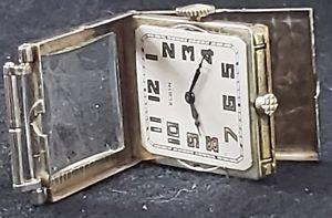 【送料無料】14k gold1930s elgin barhinged lugs, cl watch, push button case, unique