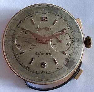 【送料無料】movimento cronografo eberhard amp; co extrafort calibro 14000