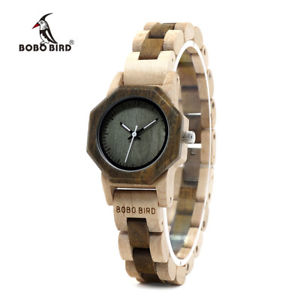 bobo bird exquisite watch creative design xmas gifts for her wife women wood box