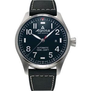 【送料無料】alpina startimer pilot automatic ref al525nn4s6 brand