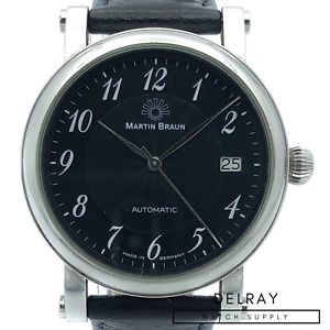 【送料無料】martin braun teutonia b limited edition watch