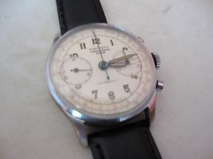 vintage 2 register chronograph fortress landeron 48,ref1003,swiss