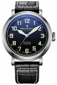 【送料無料】dreyfuss gents strap steel dgs0016419 watch 39