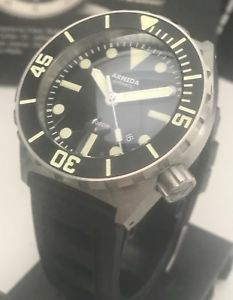 【送料無料】armida a1 1000m diver swiss eta 28242 automatic 45mm stainless steel c3 lume