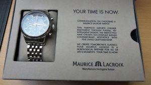 maurice lacroix les classiques automatik chronographe upe 2590 euro