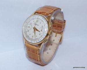 【送料無料】cronografo vintage parker valjoux 22 placcato anni 50 garantito perfetto