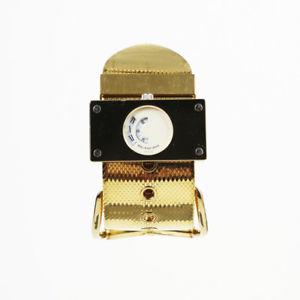 【送料無料】balenciaga gold tone montre acier watch