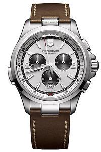 【送料無料】victorinox night vision herrenchronograph chrono 241729