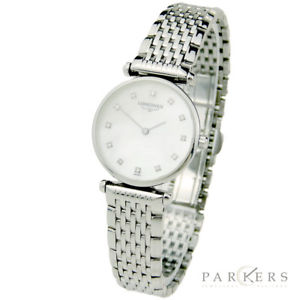 longines lady la grande classique steel quartz wristwatch l42094876