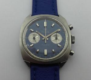 【送料無料】chronographe suisse transglobe valjoux 7730 a remontage manuel c127p3