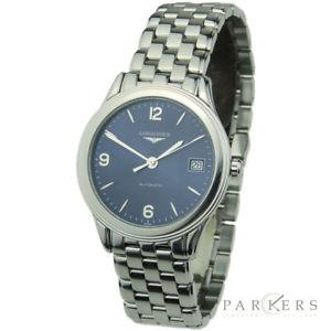 【送料無料】longines flagship stainless steel automatic wristwatch l47744964 dating 2014