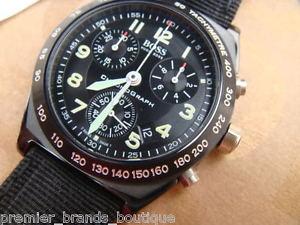 【送料無料】 hugo boss mens swiss made monaco navitimer oyster pilot chronograph watch