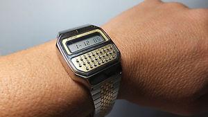 vintage nos 1970s pulsar y7395019 calculatoralarm watch