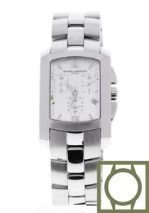 baume amp; mercier hampton milleis xl chronograph quartz 455 x 30 mm