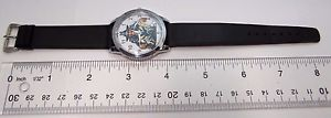 obama the spy ,spys like us,retro round mens character watch,307,lk
