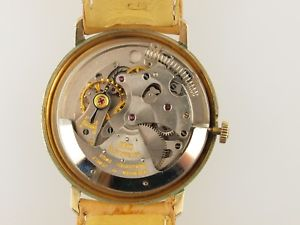 le coultre automatic10k gold filled amp; ss, 17 jewels, sub second, rare condition