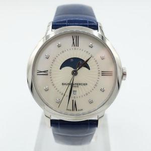 【送料無料】baume and mercier womens quartz watch moa10226sd