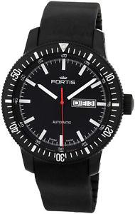 【送料無料】fortis b42 cosmonautis monolith automatic mens strap watch day date 6471831k