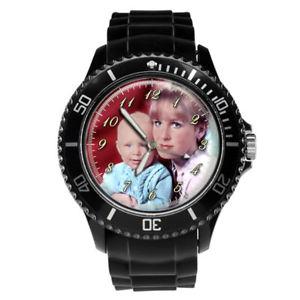 【送料無料】neues angebotpersonalised custom mens sport wrist photo watch engraving christmas gift idea