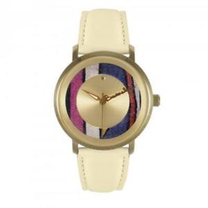 orologio donna braccialini brd 3091cc pelle beige gold dorato