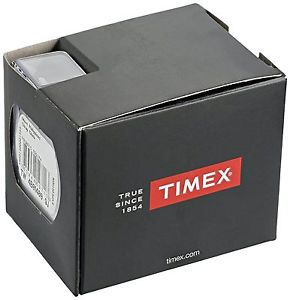timex tw2r22700, mens easy reader, brown leather watch