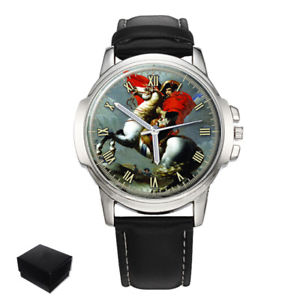 napoleon bonaparte gents mens wrist watch gift engraving