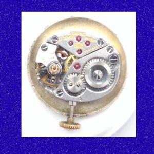 vintage longines  17 jewel calibre 410 wrist watch movement, 1965
