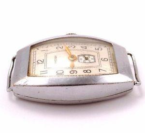 early soviet zvezda  star windup watch ussr  cccp 3q1955 *us seller* 384