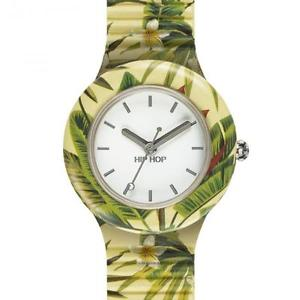hip hop orologio jungle fever yellow donna hwu0779 giallo  watch fiori foglie