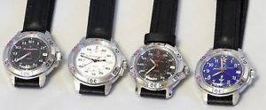 【送料無料】vostok komandirskie russian military amp; sport watch