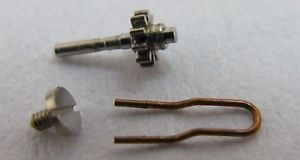 piaget 9p watch part center wheel or pinion only  its spring
