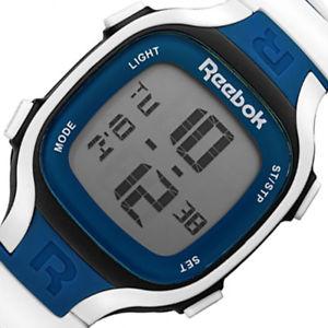 reebok blade mens digital chrono sport silicone strap watch rcbl1u9pbiwsb