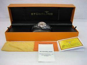womens stuhrling 315l212112 lady regent ii stainless steel watch