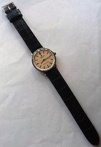 gift idea  vintage favre leuba geneve twin power hand winding swiss wristwatch