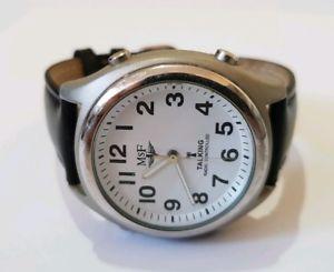 mf mens radio controlled talking watch dc 0410