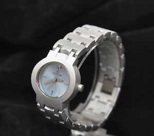 spazio24, orologio da donna in alluminio, qdt azzurro soleil     d95